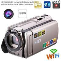 HDV-6052SR 3 inches Wi-Fi Digital Nachtsicht Kamera 1080P Video Camcorder
