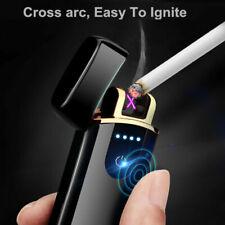 Sensor Arc Touch Flameless USB Smart Plasma Double Electric Rechargeable Lighter
