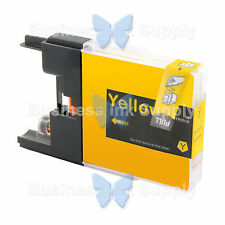1 YELLOW LC71 LC75 NON-OEM Ink for BROTHER MFC-J430W LC-71 LC-75 LC71Y LC75Y