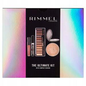 Rimmel The Ultimate Kit Mirror Mascara Magnif'eyes Lipstick Eyeshadow Gift Set