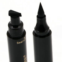 2 in 1 Winged Eyeliner Stamp Waterproof Makeup Eye Liner Pencil Black Liquid Pro
