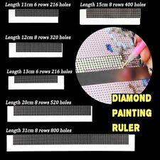 Werkzeug Zubehör Für 5D Diamond Painting Diamant Malerei Stahllineale 11-31 cm