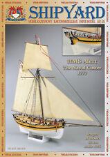 Shipyard 50: HMS alert (1777) 1:96 con parti Lasercut