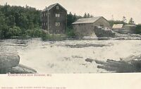 SHAWANO WI – Keshena Falls near Shawano – udb (pre 1908)