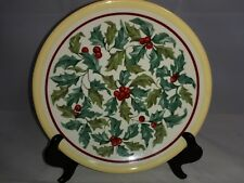 "Longaberger American Holly 8 1/8"" Salad Plate"