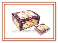 Lot Of 120 Hem Precious Lavender Cone Incense 12 Box Of 10 Cones = 120 Cone