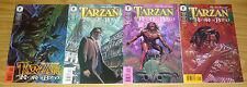Tarzan: the Rivers of Blood #1-4 VF/NM complete series IGOR KORDEY dark horse