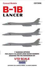 Caracal Decals 1/72 BOEING B-1B LANCER Long Range Bomber