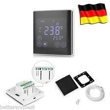 LCD Digital Thermostat Touchscreen Raumthermostat Fußbodenheizung Wandheizung DE