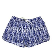 Vineyard Vines Womens XXS Blue Printed Pull On Performance Shorts Lightweight