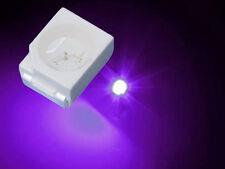 50 Stück smd  3528 1210 UV schwarz licht LEDs, PLCC2 UV top leds