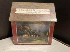 Sealed 1998 Thomas Kinkade Candlelight Cottage 100 Piece Miniature Jigsaw Puzzle