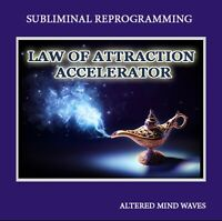 Law of Attraction Accelerator Subliminal Program - Manifest Your Desires Faster!