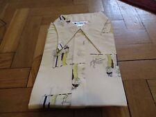 """Trapunta Vintage 70s DECO Flapper Lady Man COPPIA PUGNALE colletto della camicia blusa 38"""" 12 NUOVI"""