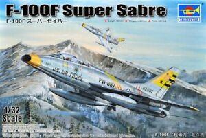 1/32 Trumpeter #02246 F-100F Super Sabre