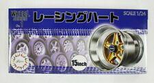 Fujimi 193427 W-1 1/24 Scale Racing Hart 15 inch Wheel