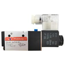 14 Pneumatic Electric Solenoid Valve 3 Way 2 Position Dc 12v Air Npt