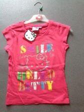 T-shirts, hauts et chemises à col rond manches courtes pour fille de 10 ans