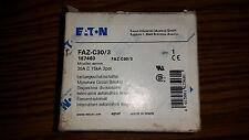EATON FAZ-C30/3-NA Miniature Circuit Breaker, 30A, C Curve, 3P