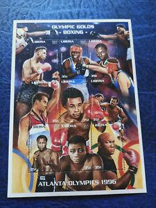 Liberia 1996 Olympic Games Atlanta Mini Sheet MNH Boxing