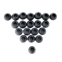 Durable Soft Replacement Silicone EARBUD Tips for Skullcandy Earphones 20pcs J57