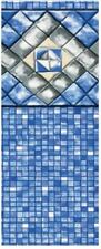 "15' x 24' x 54"" Unibead Diamond Cube Above Ground Swimming Pool Liner- 25 Gauge"