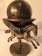 Pegasus Carrying The World Greek Mytholgoy Statue Sculpture Figurine