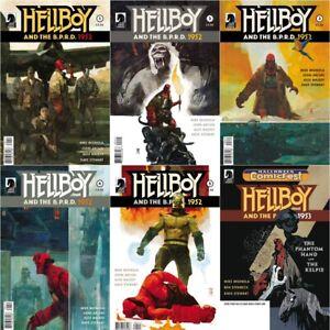 HELLBOY & THE BPRD 1952 1 2 3 4 5 1953 Comics Set Movie Dark Horse And Comicfest
