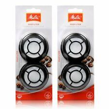 2 x Melitta permanent coffee filter / filter pad f Senseo latte select