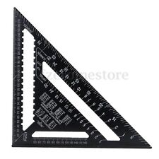 "LARGE Aluminium Roofing Quick Square 12"" Rafter Angle Frame Measuring Carpenter"