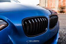 schwarze glänzende Nieren für BMW 1er F21 Frontgrill salberk performance 2001 M1