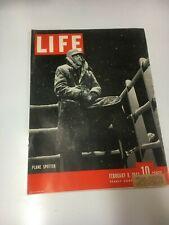 Ww2 Life Feb 8 1943 London Blitz, Montgomery in Africa,Rickenbacker,Casab lanca