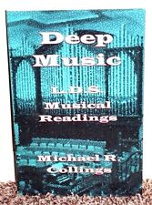 DEEP MUSIC LDS MUSICAL READINGS by Michael Collings 2012 1STED MORMON BOOK PB