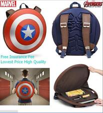 "BAG:: 18"" Marvel Avengers Age of Ultron Captain America Shield Backpack Comics"