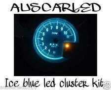 Mitsubishi Triton MK 1996-2001 Ice Blue LED Dash Cluster Instrument Light Kit