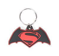 DC Comics Batman vs. Superman Logo Soft Touch PVC Keychain