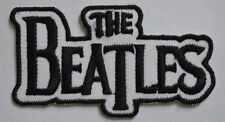 #117 The Beatles Rockabilia Music band Iron/ Sew-on Embroidered Patch free