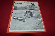 Oliver Tractor 37 Hay Conditioner Dealers Brochure YABE13