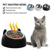 Automatic Electric Heated Pet Bowl Dog Dishes Cat Water And Feed Bowl Feeder