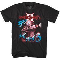 Devil May Cry DMC 3 Japanese Game Cover Men's T Shirt Dante Vintage Arcade Gamer