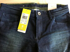 """Adidas Neo Jeans 26""""W 30""""L Skinny Fit Womens Dark Blue BNWT"""