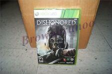 Dishonored Xbox 360 New Sealed