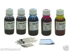 Refill ink kit for HP 61 61XL Deskjet 1051 2510 2512 3052A 3054A 5X4oz/S