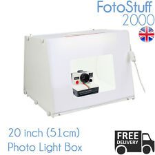 Professional Large 51CM Photo Studio Kit MK50 Light Box Cube Tent UK Stock