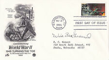 Wild Bill Guarnere Signed First Day Cover Band of Brothers WW2 Easy Co 101st AB