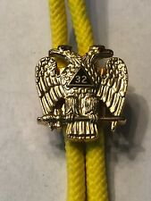 Vintage 32nd Degree Scottish Rights Bolo Tie