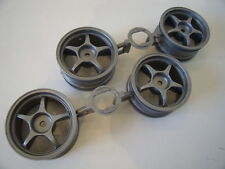 New Genuine Tamiya 53232 Grey Touring Car Wheels (Set Of 4) 26mm/12mm Hex