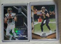 2019 Panini Drew Brees (2) Card Lot Spectra GWJersey /199, Playoff 3rd row 11/25