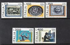 ITALY MNH 1976 SG1487-1491 ITALIA 76 INT STAMP EXHB