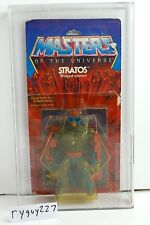 MOTU, Stratos, 8-Back, AFA graded, Masters of the Universe, MOC, sealed He Man